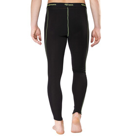 Woolpower Lite Long Johns Men black/light green